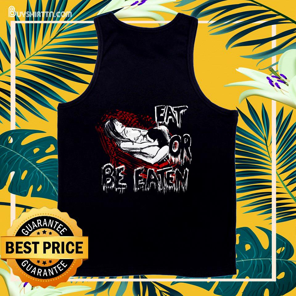 Come Hither Vampire eat or be eaten Halloween tank top