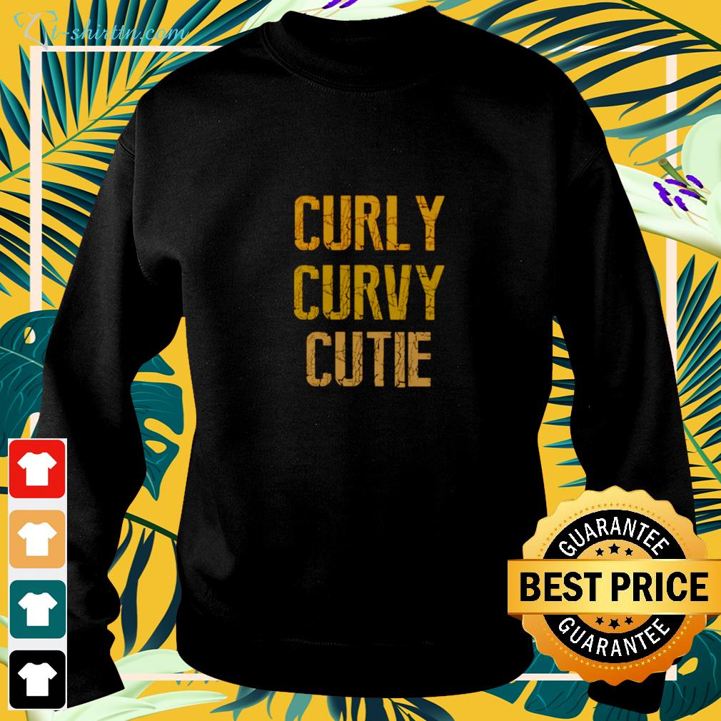 Curly curby cutie sweater