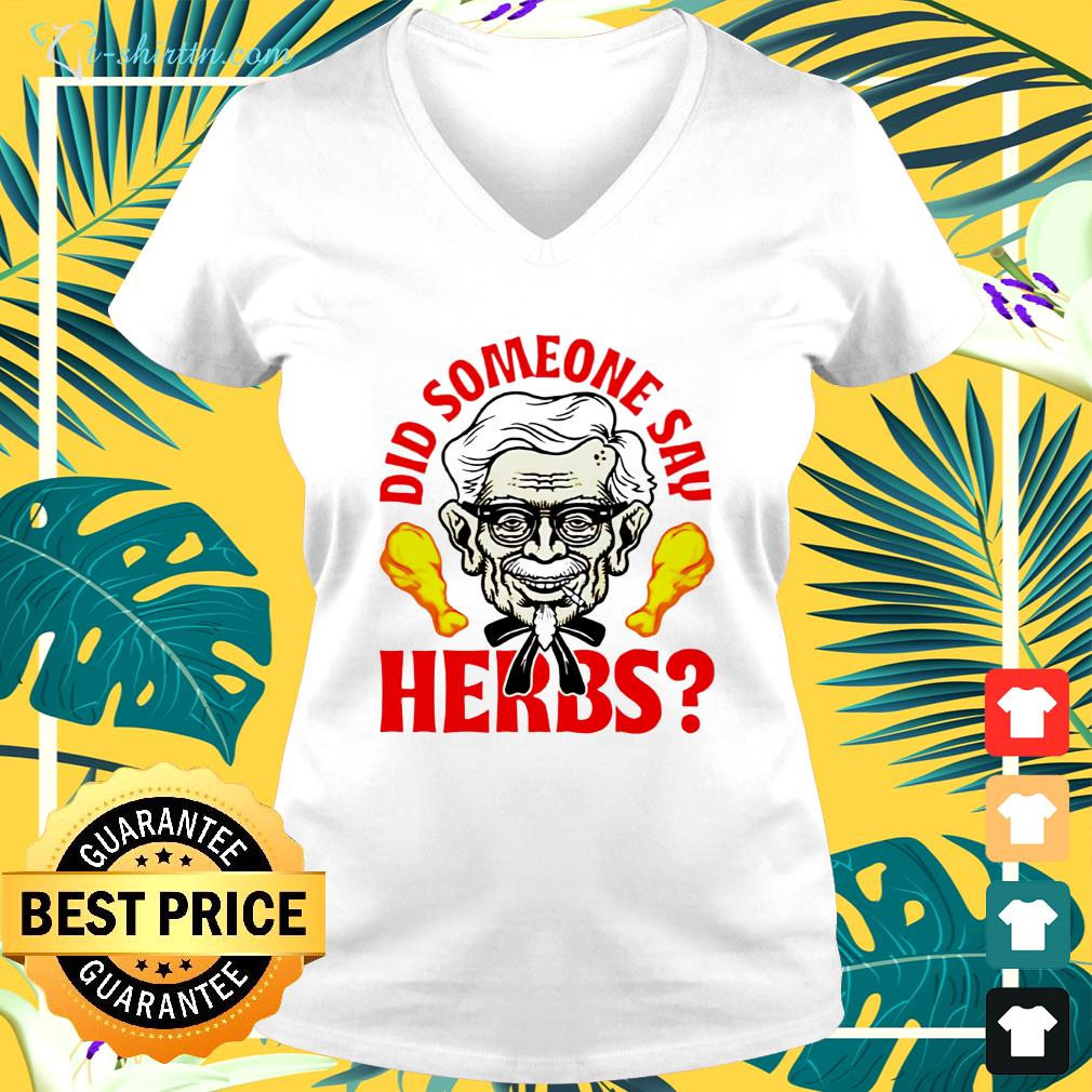 Did someone say herbs v-neck t-shirt
