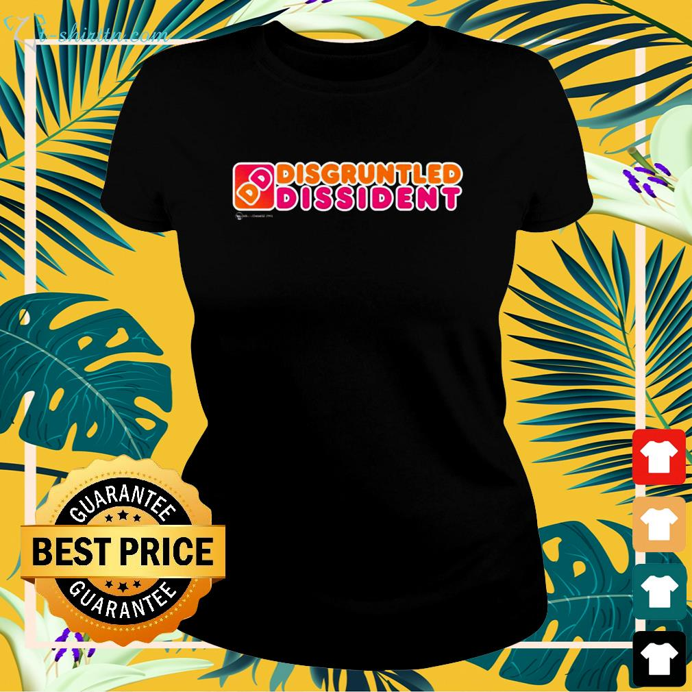 Disgruntled Dissident Dunkin Donuts ladies-tee
