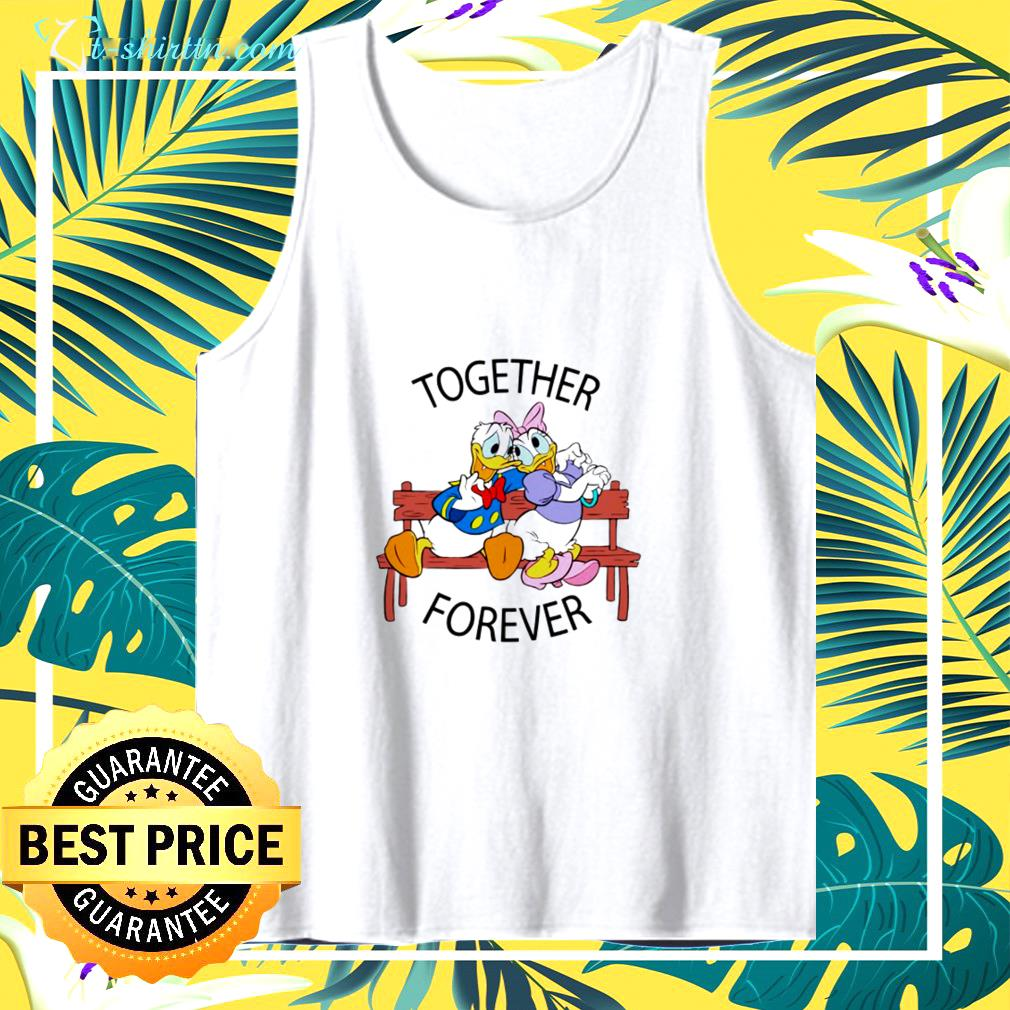 Donald And Daisy Together forever tank top
