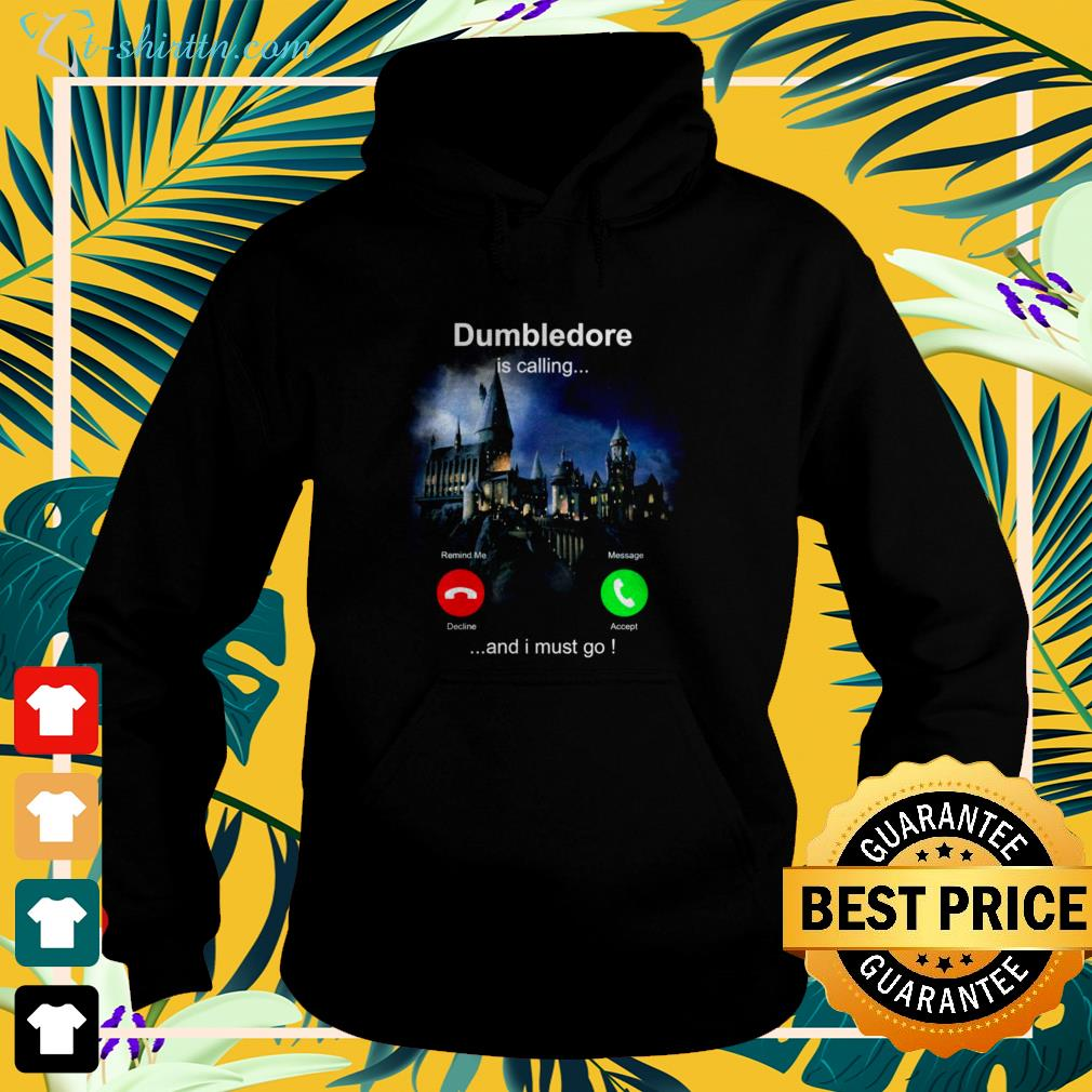 Dumbledore is calling and I must go hoodie