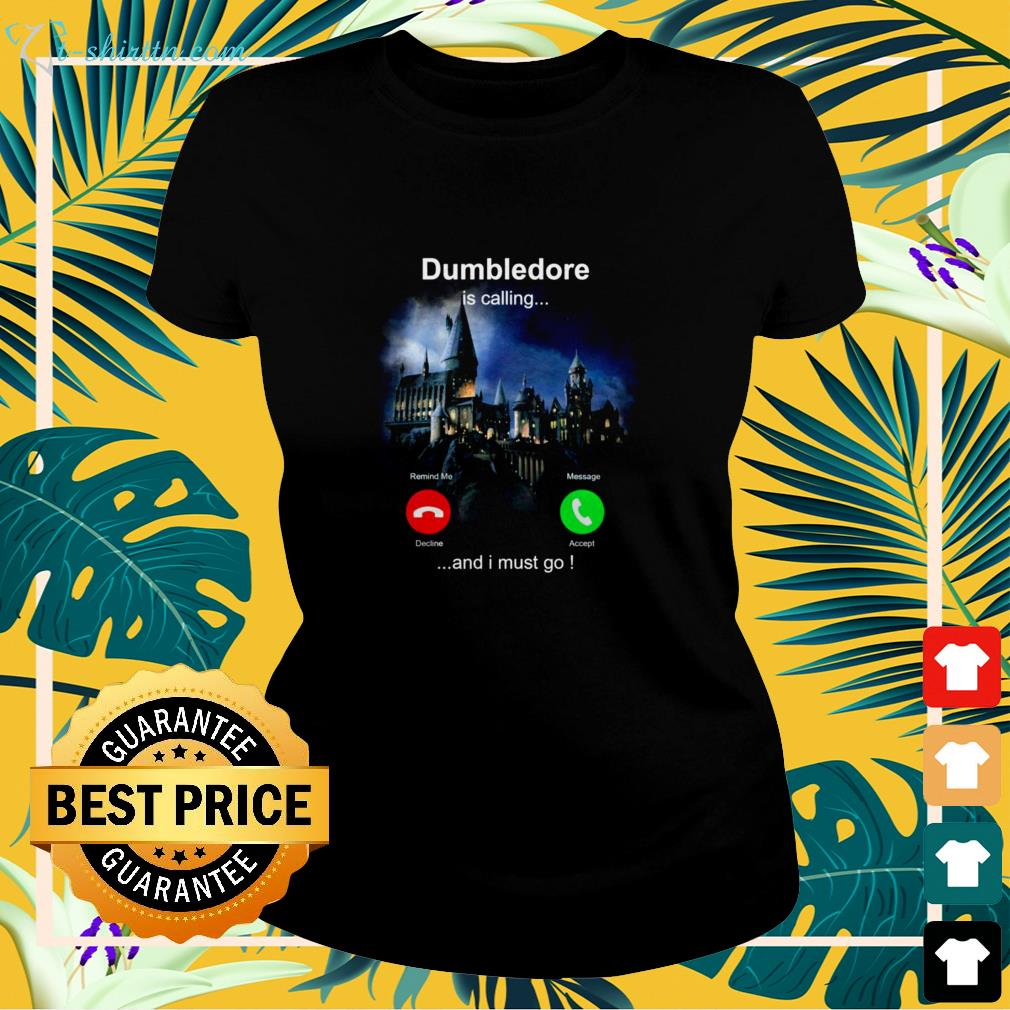 Dumbledore is calling and I must go ladies-tee