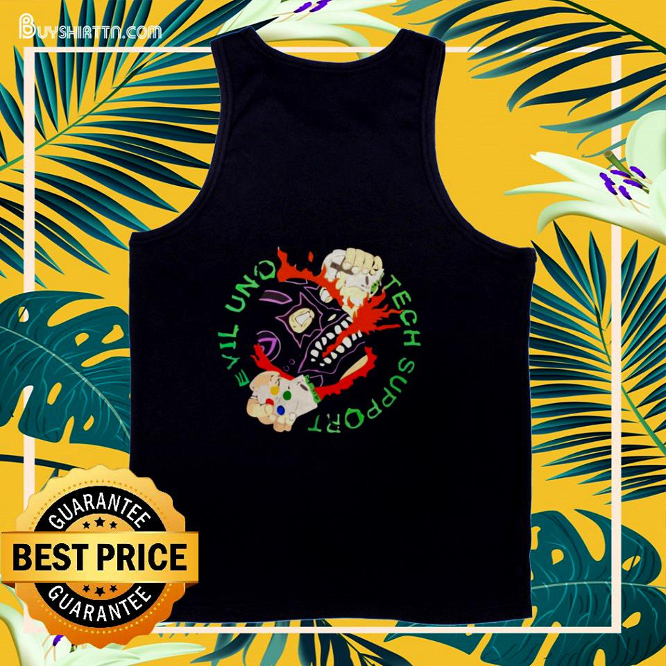 Evil uno tech support tank top