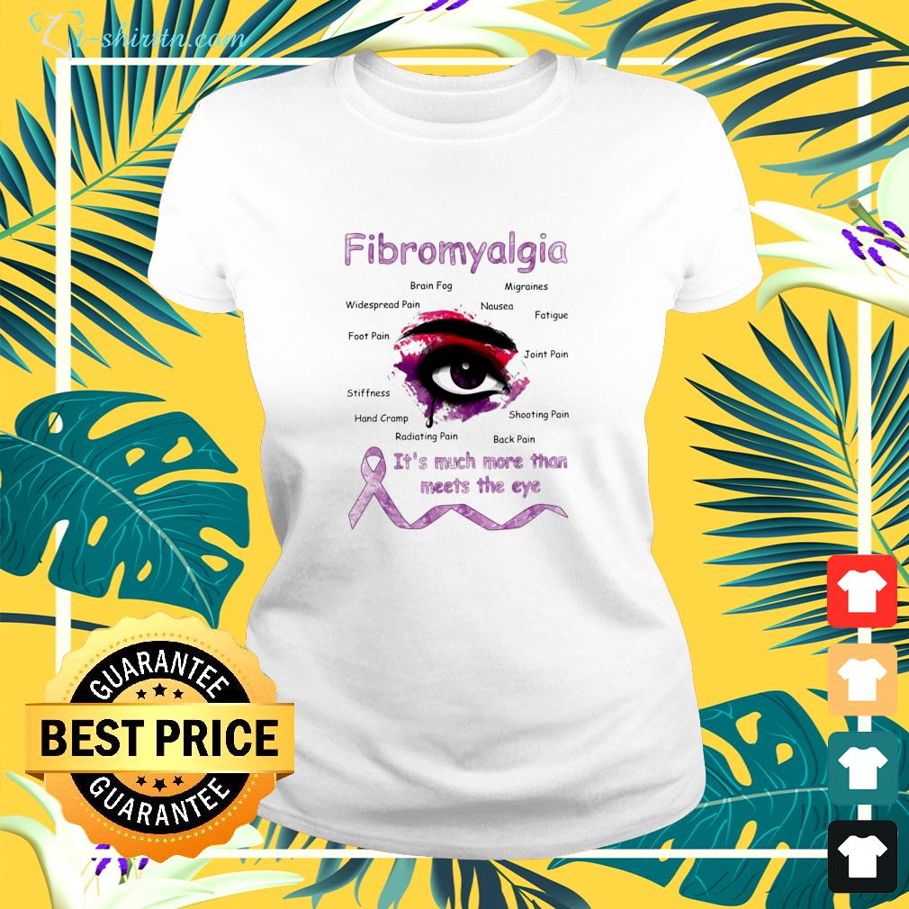 Fibromyalgia it's much more than meets the eye ladies-tee