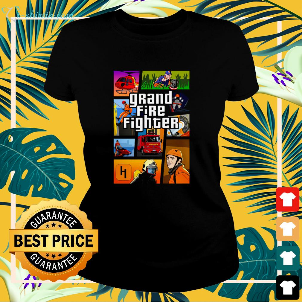 Grand Fire Fighter ladies-tee