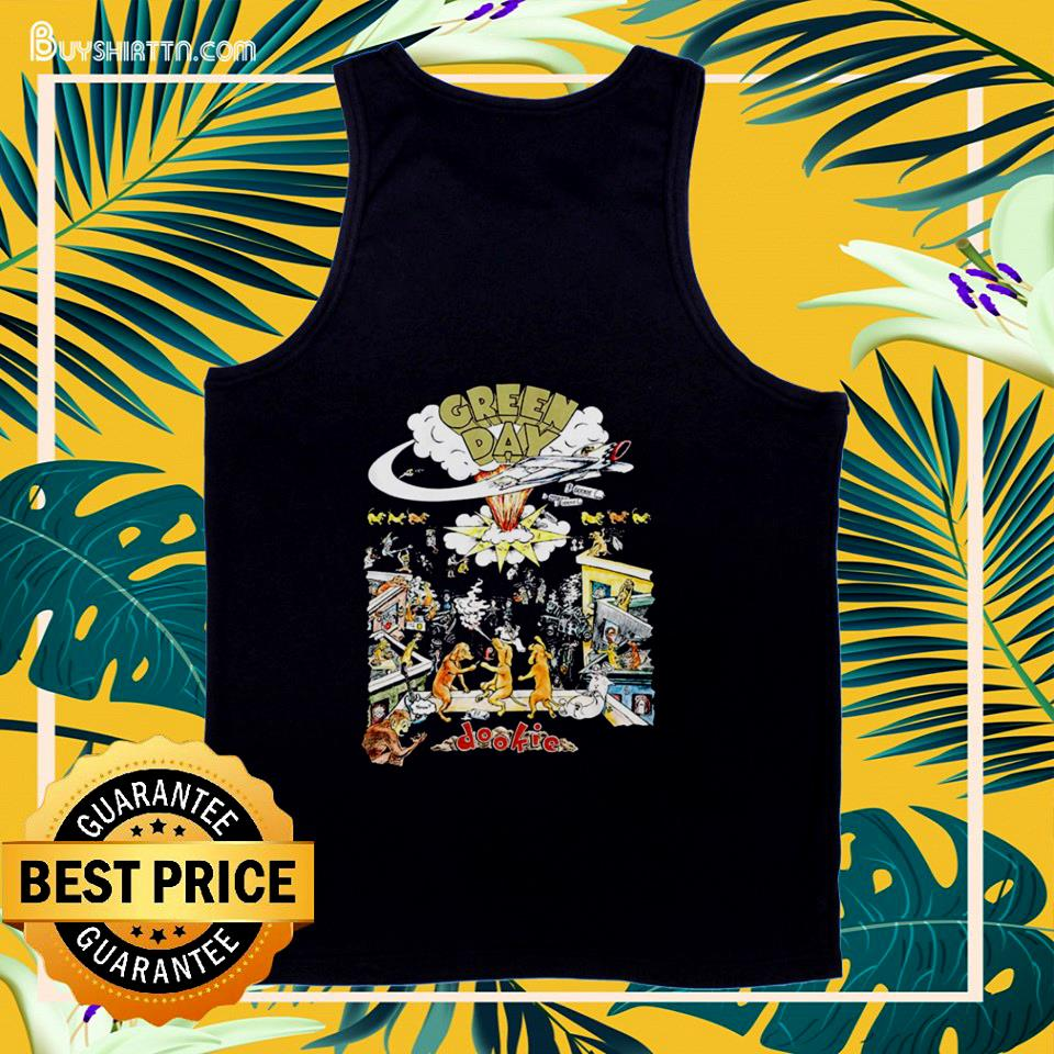 Green Day Dookie tank top