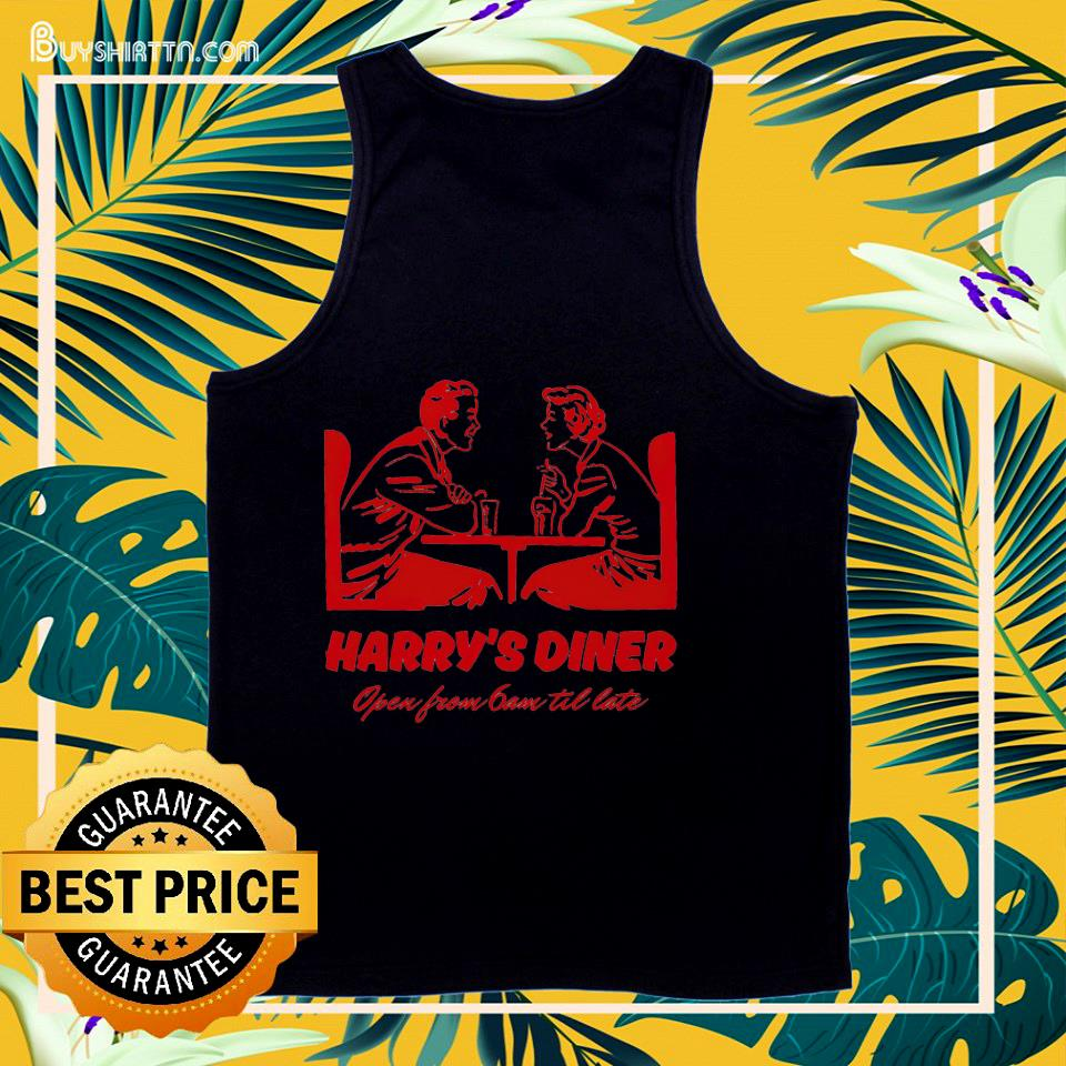 Harry's Diner open from 6am til late tank top