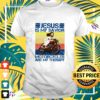 Jesus is my savior motorcycles are my therapy shirt