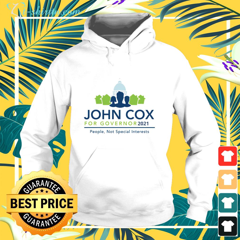 John Cox for Governor 2021 Governor Of California hoodie