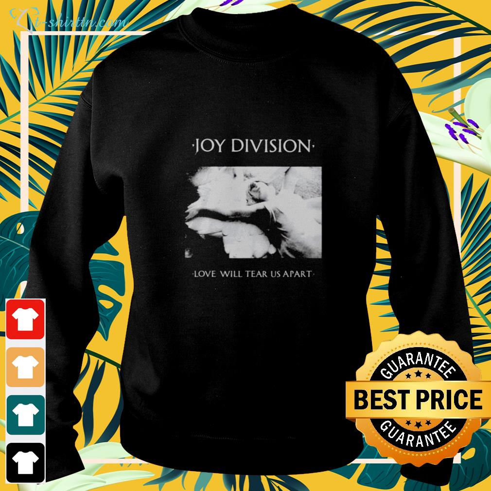 Joy division love will tear us apart sweater