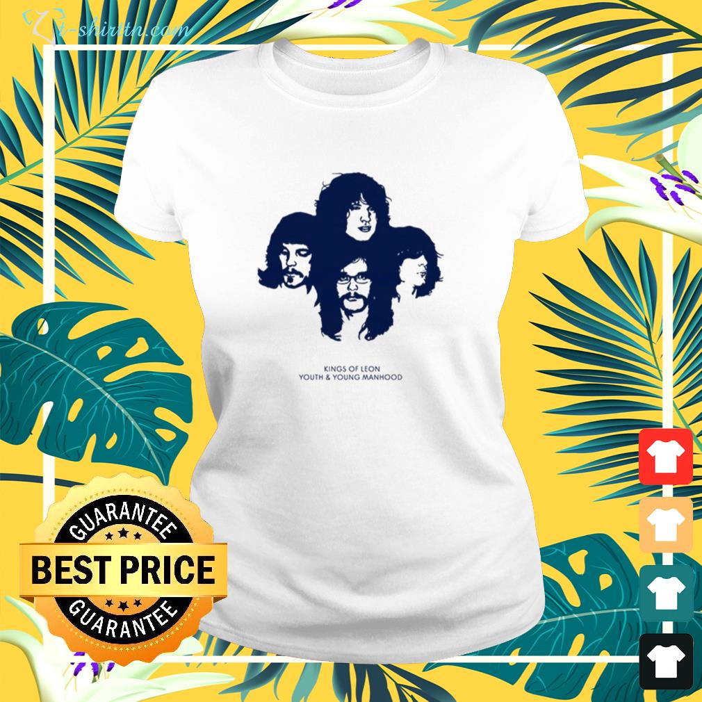 Kings of leon youth and young manhood  ladies-tee