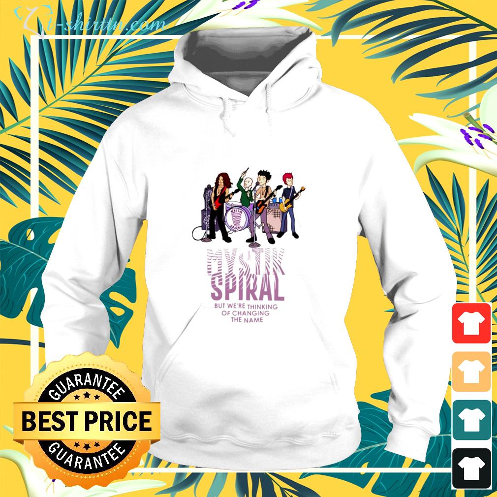 Mystik spiral but we're thinking of changing the name hoodie