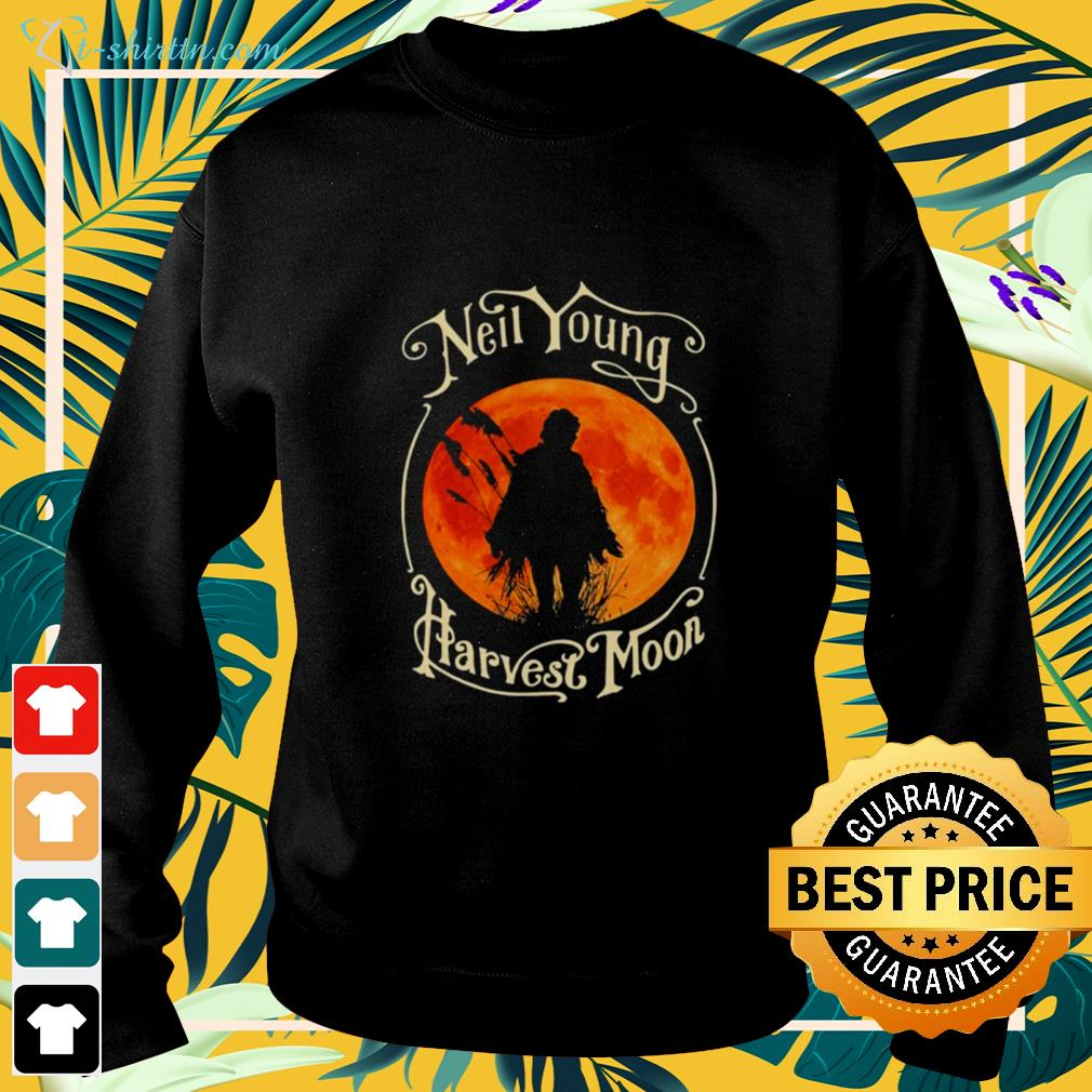 Neil Young Harvest Moon Halloween sweater
