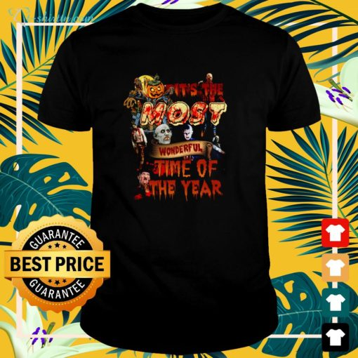Premium It's the most wonderful time of the year Halloween shirt