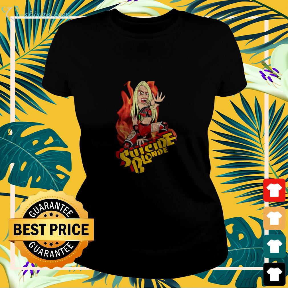 Suicide Blonde the one and only ladies-tee