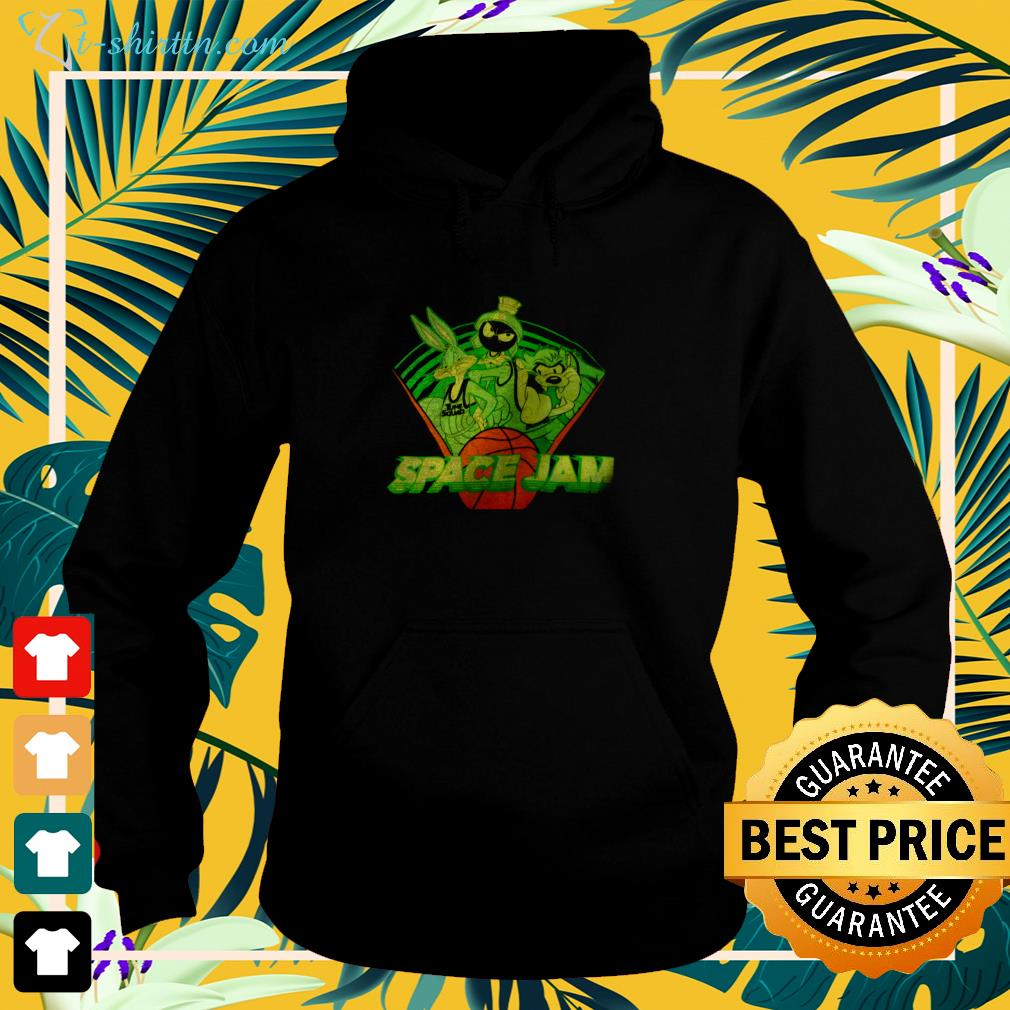 Tune Squad Space Jam basketball hoodie