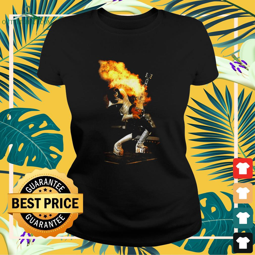 Aces Frehley Live Kiss band ladies-tee