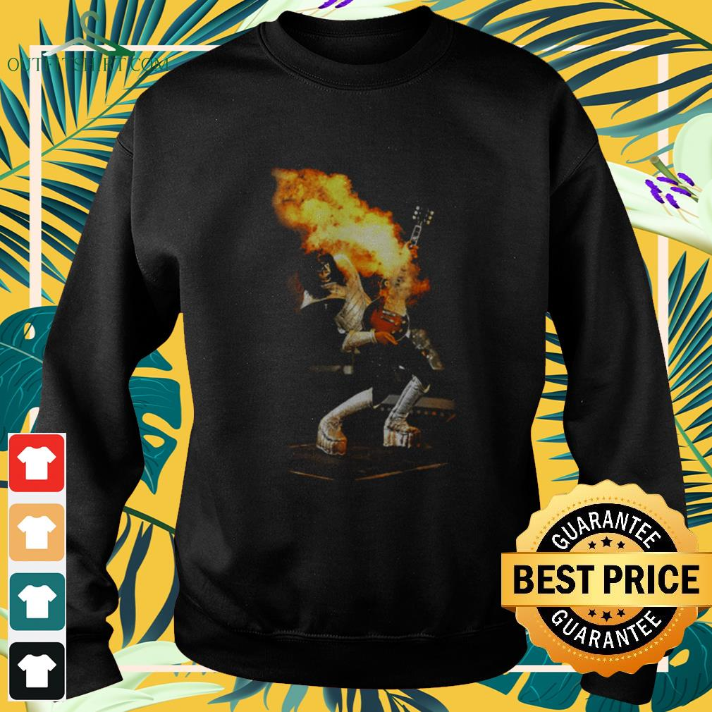 Aces Frehley Live Kiss band sweater