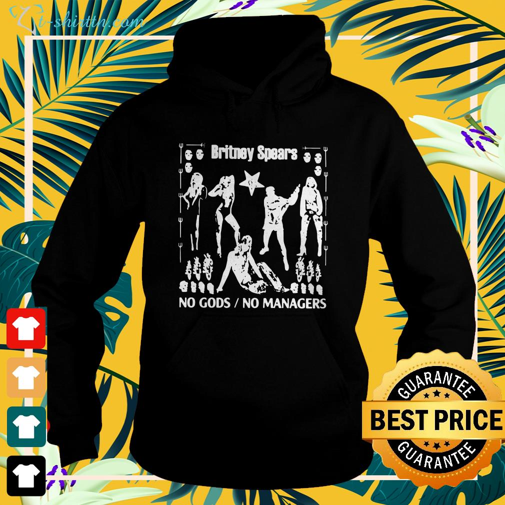 Britney Spears no gods no managers hoodie