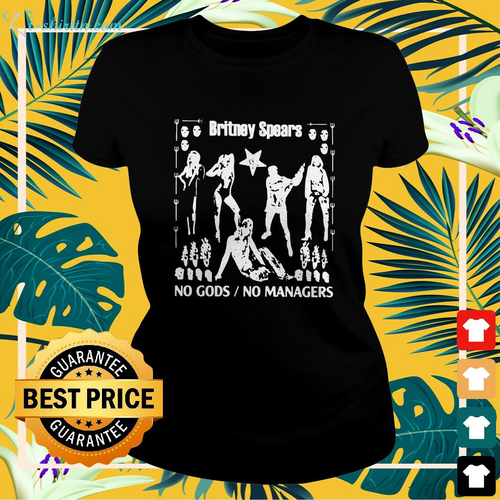 Britney Spears no gods no managers  ladies-tee