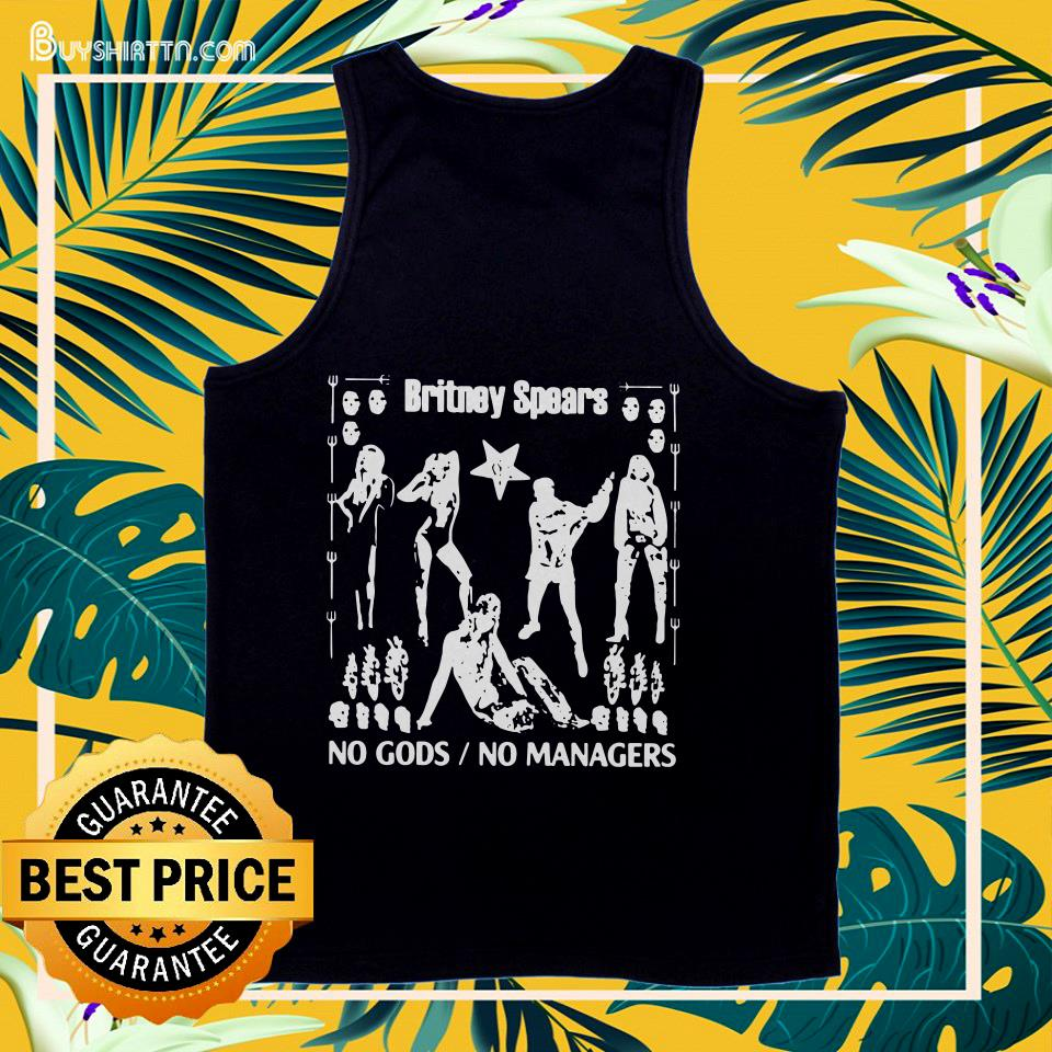 Britney Spears no gods no managers tank top