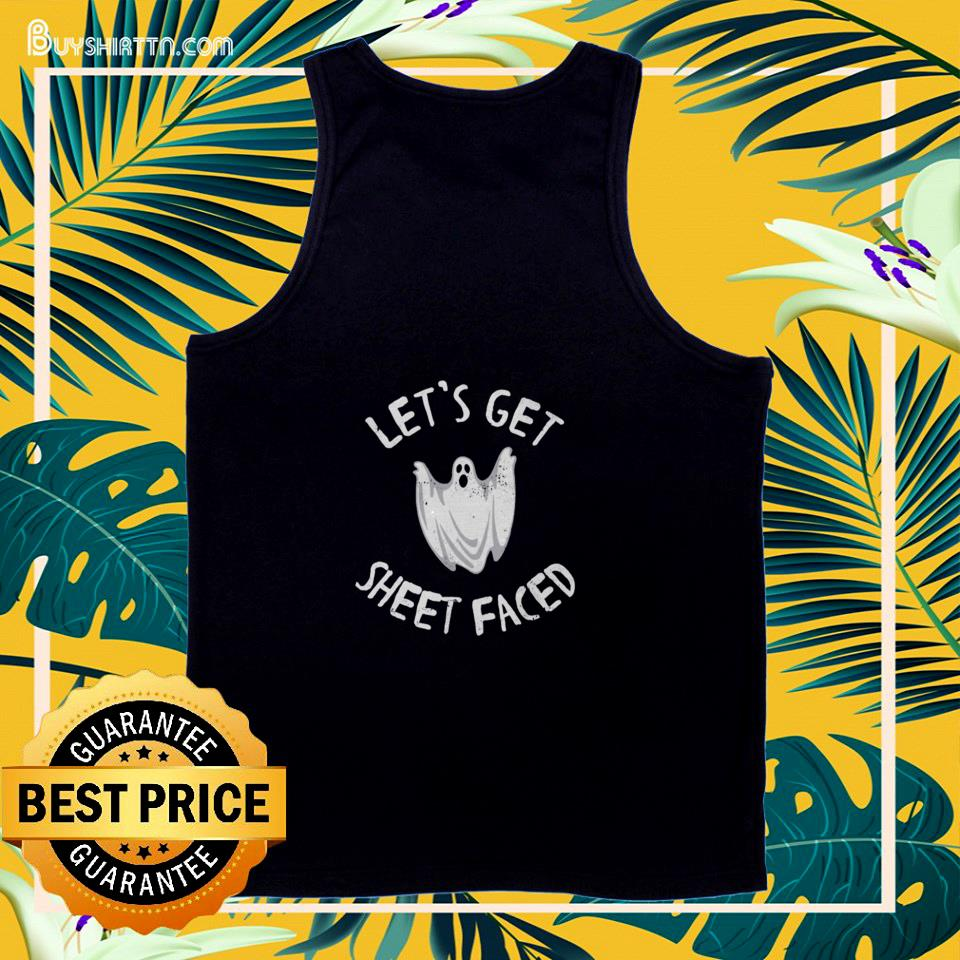 Ghost let's get sheet faced  tank top