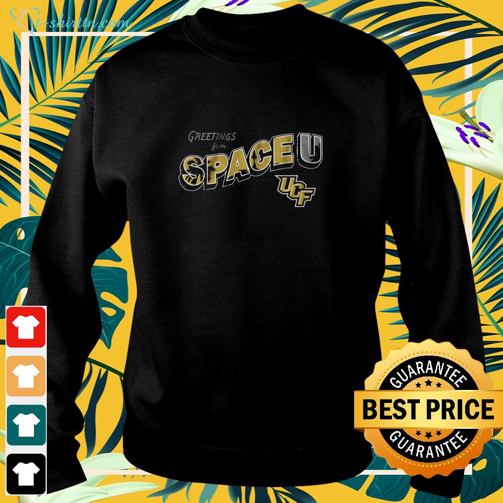 Greetings from Space U University of Central Florida sweater