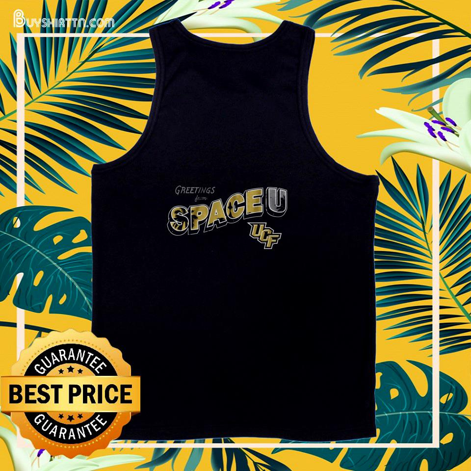 Greetings from Space U University of Central Florida  tank top